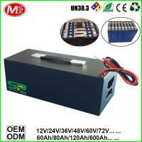 China Vacuum Cleaner Car Tour Car Patrol Car Power Supply Portable Storage LiFePO4 Battery Backup Power 48V 200Ah on sale