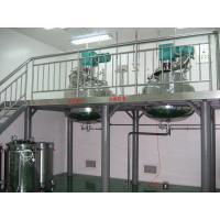 China カプセルの製造業機械 3 層にされた水はゼラチンの給油タンクを浸します on sale
