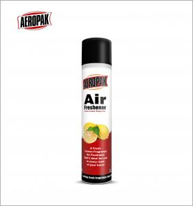 China AEROPAK 330ml Air Refersher Aerosol Spray with Many Flavors for Household on sale
