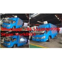 HOT SALE forland 4*2 RHD LED advertising truck with 3 sides P8 LED screen, best price Forland LED billboard truck