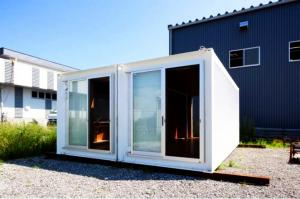 China Travel Hotel Portable Container House , Various Types Portable Shipping Containers on sale