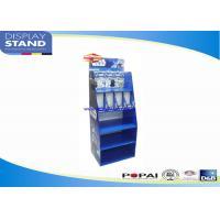 Blue Star War Toys Semi-permanent Metal Retail Display Stands , Free Floor Standing