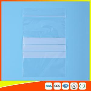 Quality Le zip-lock en plastique d'emballage de joint de fermeture éclair met en sac la for sale