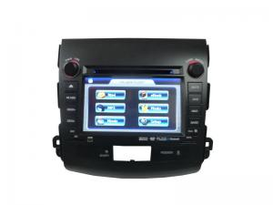 China Peugeot 4007 Automobile Navigation 480P TFT LCD SD USB RADIO Ipod Peugeot DVD GPS ST-4007 on sale