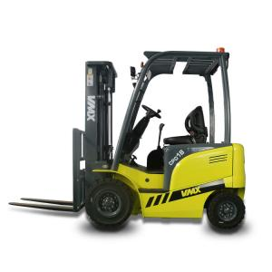China Pneumatic Tire Battery Operated Forklift Warehouse Lifting Equipment on sale