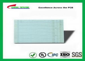China Led Driver PCB 1.6mm  White Aluminum PCB Solder Mask Immersion Gold on sale