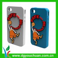 Printing embossed fashion hot-selling cell phone silicone cases for ihpnes