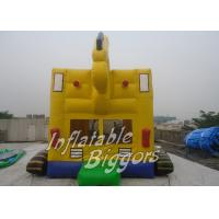 Moonwalks Jumpers Inflatable Bouncy Castle Excavator Balloon With AU PVC Fire-Resistant