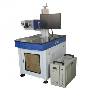 China UV Laser Marking Machine Water Cooling 3W With High Speed Galva Mirror Scanner on sale