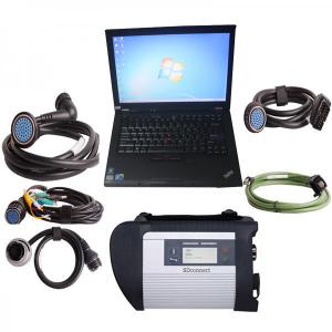 China 2017.5V MB SD Connect Compact 4 Star Diagnosis Plus Lenovo T410 Laptop 4GB Memory Software Installed Ready to Use on sale