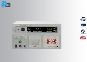 China High Precsion Dc Ac Hipot Test Equipment 10KV / 5KV For Household Appliance on sale