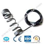 Spring Hot Runner Coil Heater With TC K, Nozzle coil heater for hot runner system