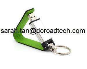 China Disco de cuero competitivo de memoria USB USB, unidades USB libres de alta calidad del cuero del logotipo on sale