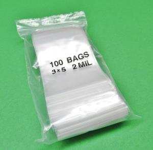 China Plastic Material Heavy Duty Zip Lock Bags , Clothes Packaging Clear Zip Seal Bags on sale