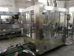 Rotary Monoblock Filling And Capping Machine , 380V / 50HZ Commercial Bottling Machine