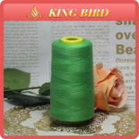 Customize 5000Y Green Sewing Thread Polyester 100 % , 40S / 2