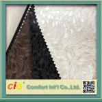 Vinil do PVC que grava a tela de estofamento de couro sintética para a mobília/saco/vestuário