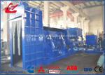 Customized Bale Size Hydraulic Metal Shear Baler Machine With Air Cooling System WANSHIDA