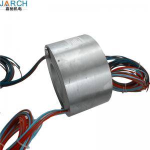 China Rotary Joint 80A High Current Slip Ring , Customized Carbon 4 Wire Slip Ring on sale