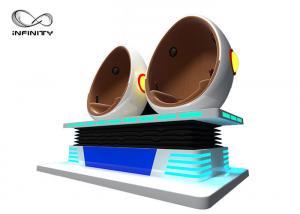 China Amusement Park 9D Vr Roller Coaster / Virtual Reality Machine on sale