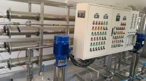 China Large Capacity Food And Beverage Water Treatment , RO Mineral Water Purification Plant on sale