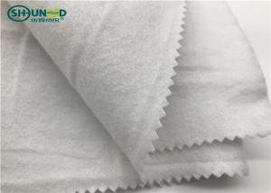China White Nonwoven Felt Garments Accessories For Small Part Of Cloth on sale