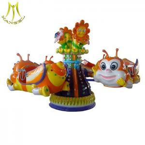 China Hansel amusement park large electric carousel rides from Guangzhou on sale