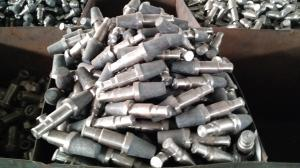China High Carbon Steel 40 - 54HRC Rotary Drilling Rig Components , Wear Resisting Tricone Drill Bit on sale