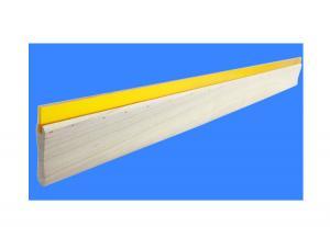 China Silk screen scraper water oil wood handle scraping ink screen printing paste manual scraper scraper tip flat wear on sale