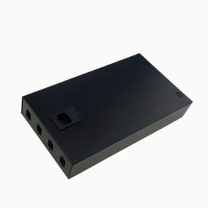 China SC Adapter Fiber Optic Termination Box 4 Port For Pigtail Storage Joints Protection on sale