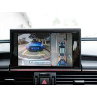 Audi A6 Car Reverse Camera System With 360 Degree Bird View with 4-channel high-definition video