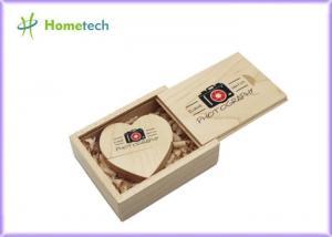 China ECO Wooden USB Flash Memory Stick Pen 64GB Custom LOGO Full Color Printing Waterproof on sale
