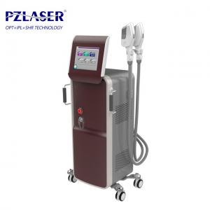 China Commercial IPL SHR Hair Removal Machine With Wrinkles Removal Function on sale