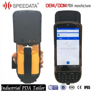China 4G LTE Handheld UHF RFID Reader , Smartphone Handheld PDA Long Distance on sale