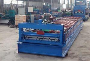 China Zinc Corrugated Iron Roofing Panel Cold Roll Forming Machines , Metal Rolling Equipment on sale