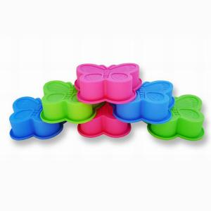 China FDA food grade Butterfly Meadow Silicone Cake Moulds biscuit molds on sale