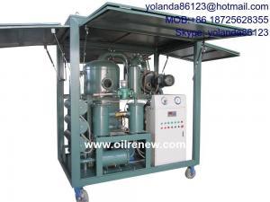 China Old Transformer oil regeneration, Transformer oil reclamation, Oil Purification machine ZYD-150(9000LPH) on sale