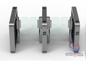 China Luxtry Styple Swing Gate  IC , ID  , Bar Code , Bimetric Access For Office Building on sale
