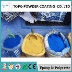 Energy Saving Epoxy Polyester Powder Coating For Household / Furniture RAL 1018 Color