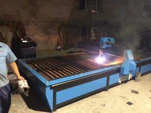 Aluminum Cutting Machine Table Cnc Plasma Cutter Plasma