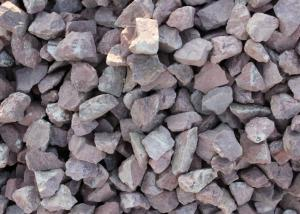 quality hotsell various of cheap chinese granite maple red aggregate gravel for paving stone