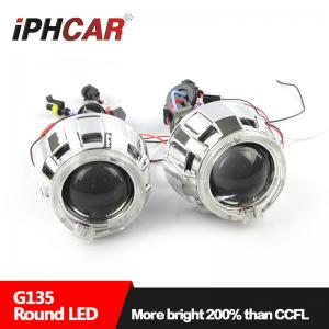 China IPHCAR Led Projector Lens Light Angel Eyes High and Low Beam Projector Lens Lamp on sale