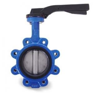 China Lug Type Ductile Iron High Performance Butterfly Valve with API 609 and EN593 Standard on sale