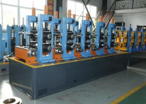 China HF Welded ERW Pipe Mill Carbon Steel Erw Tube Mill With Friction Saw Cutting on sale