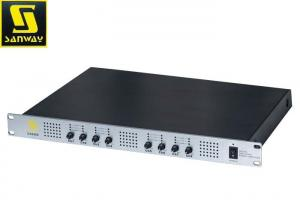 China Lightweight 300 Watts 8 Channel Power Amplifier for Conference Room on sale