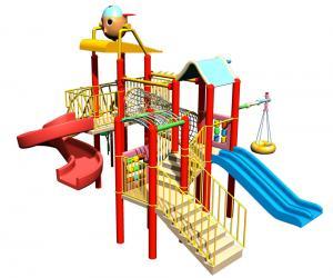 China Custom Kids' Water Playground Equipment, Childrens Fun Play Fiberglass Slides for Water Park on sale