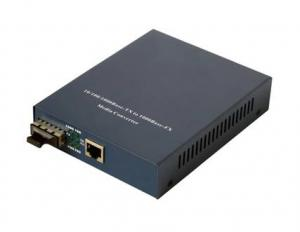 China 100 / 1000M Fiber Optic Media Converters support flow control, 1536 byte Ethernet packet on sale