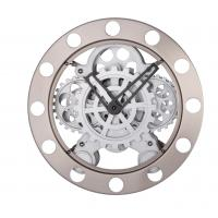 China Quartz Movement 14 Inch Wall Clock , Round Gear Clocks on sale