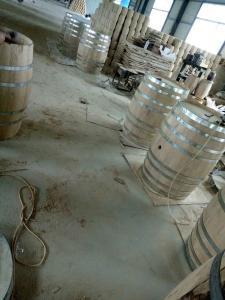 China oak wine barrel,chinese oak barrel factroy ,225Loak barrel on sale