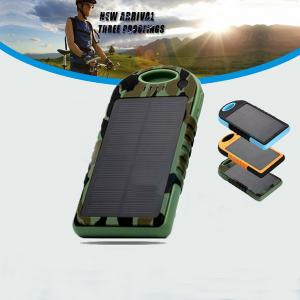 China Portable 10000mAh solar charger with high quality and compwtitive price on sale